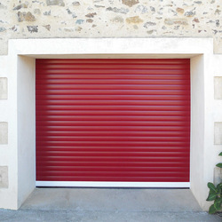 Porte de garage enroulable version couleur - Easy Stores - Ile de France